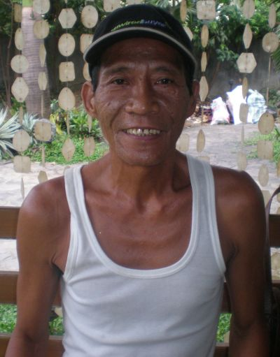 Mang Ben, full name Mamerto Balthazar II, born 1951, professional plumber, diagnosed with liver cancer