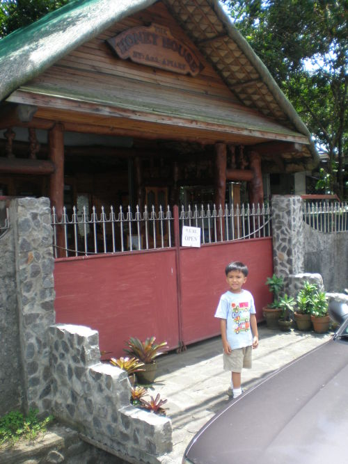 Front view of the Honey House