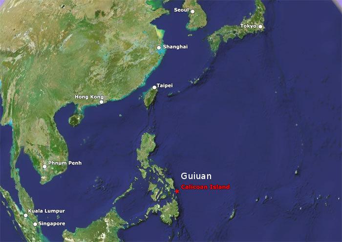 calicoan-guiuan-map